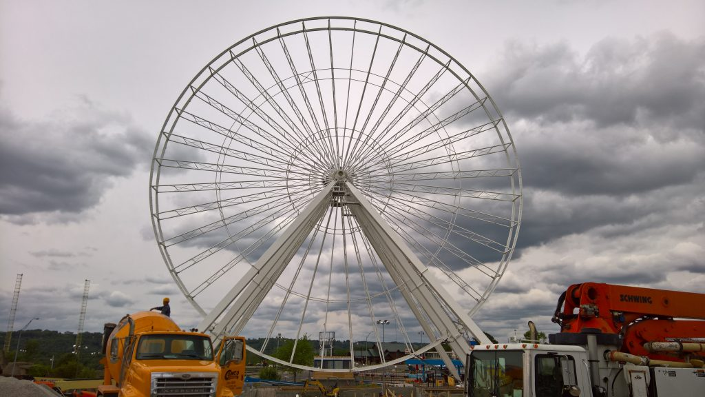 2016 - Track Ferris Wheel Big